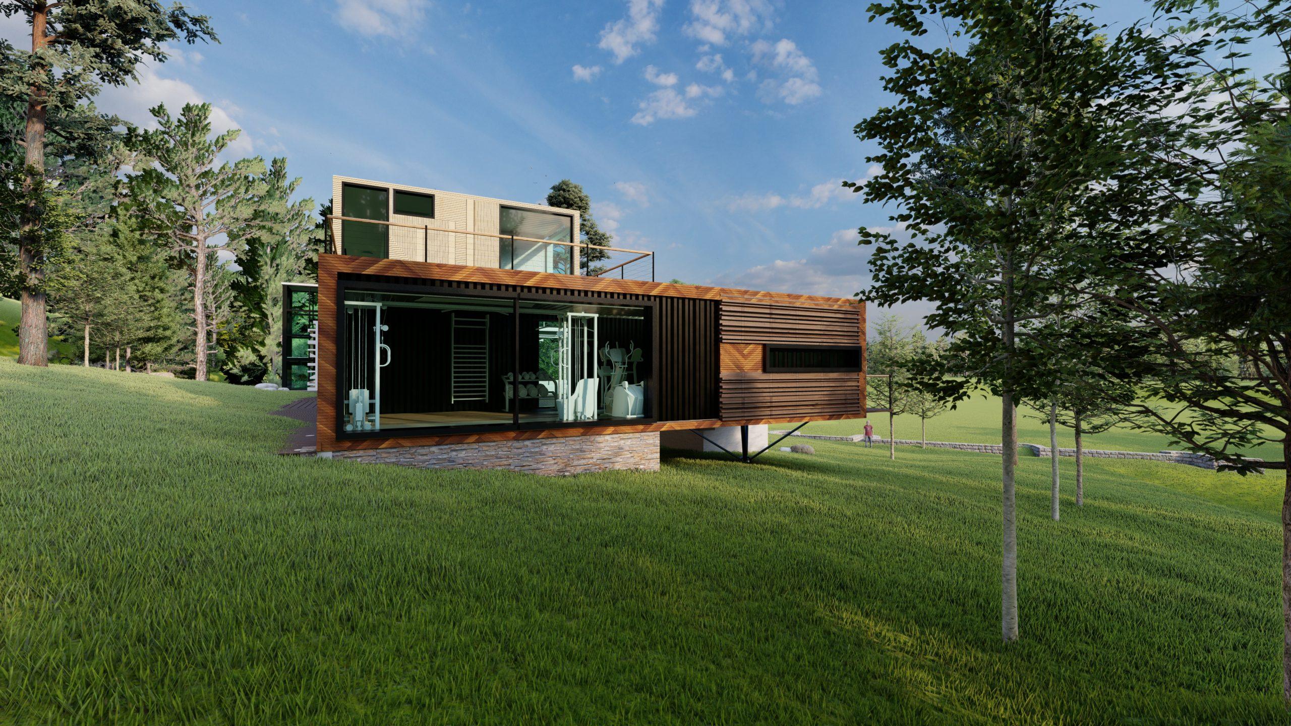 Proyecto Vivienda Modular - 302 m2 -Madrid