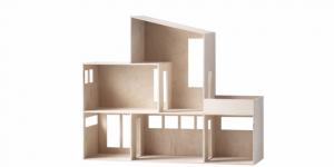 Maqueta de casa arquitectos